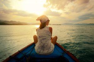 boot op het water